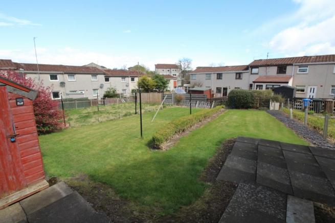 22 Balgarvie Crescent, Cupar Back Garden