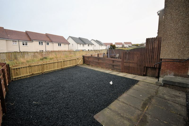 83 Craigbeath Court, Cowdenbeath Rear Garden