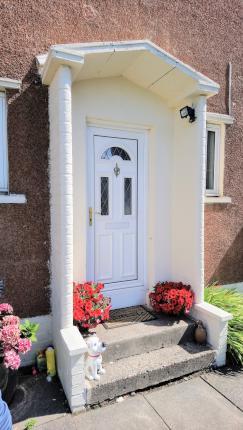 51 Johnston Crescent, Dunfermline Front Door